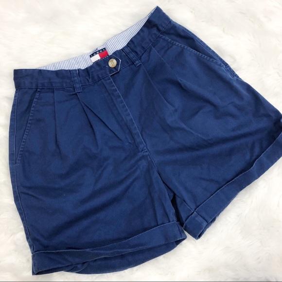 Tommy Hilfiger Pants - Tommy Hilfiger • Navy Mom Shorts